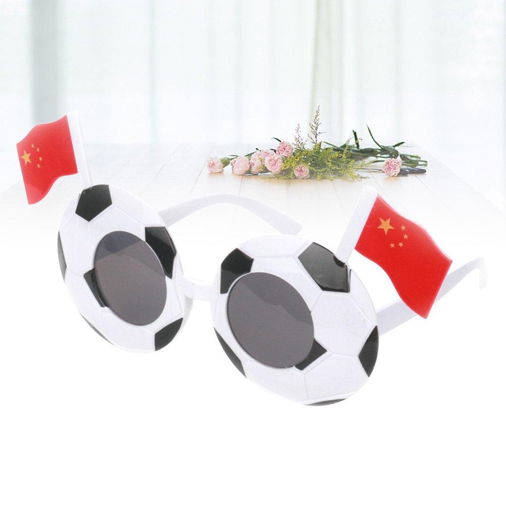 LUOEM Gafas de sol de fútbol Fiesta para niños favorece a ...