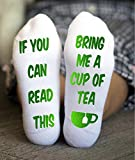Bring Me Tea Socks Women If You Can Read This Grandma Gift