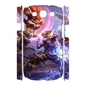 Cheap 3D Samsung Galaxy S3 I9300 Case, League of legends quote New Fashion Phone Case