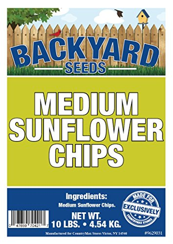 CountryMax Backyard Seeds Medium Sunflower Chips 10 (Medium Sunflower Chips)