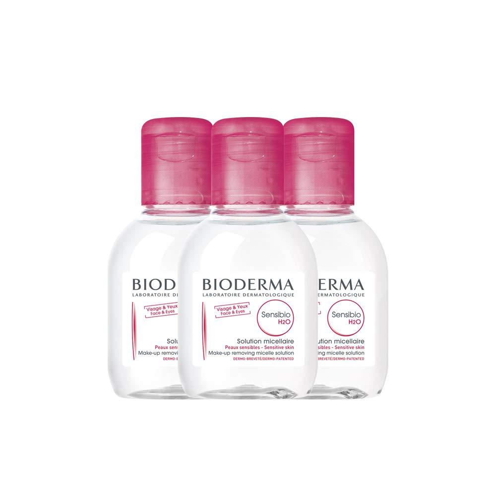 Bioderma Sensibio H2O Soothing Micellar Cleansing Water and Makeup Removing Solution for Sensitive Skin