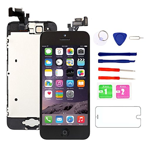 for iPhone 5 Screen Replacement with Home