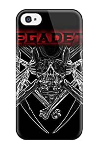 Defender Case With Nice Appearance (megadeth) For Iphone 4/4s