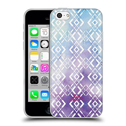 Official Cosmopolitan Mascaras Aztec Brights Soft Gel Case for Apple iPhone 5c