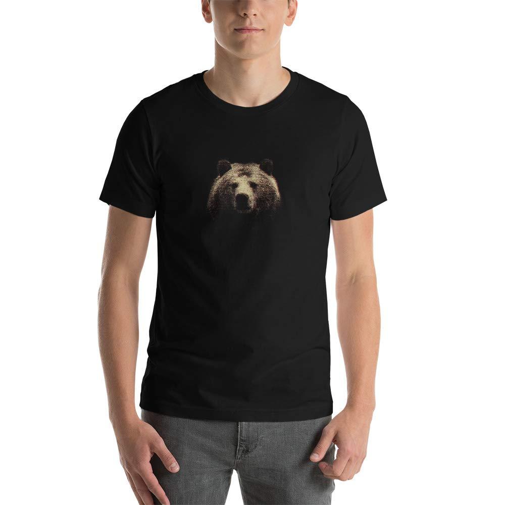 Canvas 3001 Unisex Short Sleeve Jersey T-Shirt with Tear Away Bear Bella