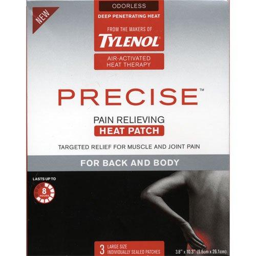 Tylenol Precise Soulager la douleur chaleur patch dos et le corps
