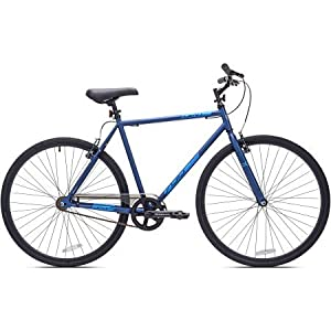 700c Men's Kent Fixie Bike | Steel Frame and Fork Steel Rise Stem