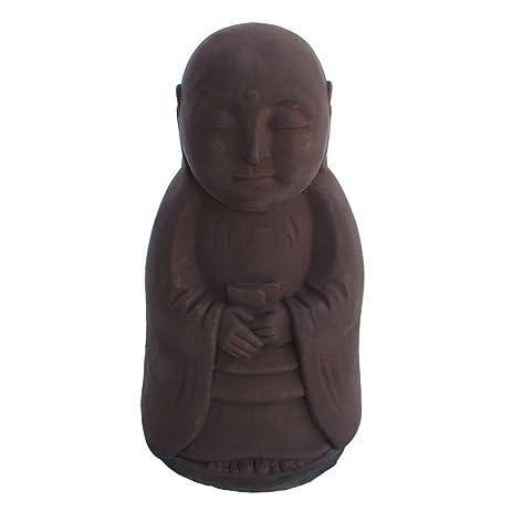Buddha Standing Jizo Garden Statue 11u201dH