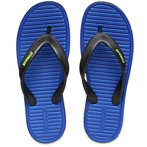 PARAGON Men's Blue Flip-Flops – 9 UK (43 EU) (A1HW0057GBLU00009G119)