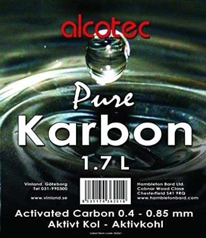 Alcotec Aktivkohle Pure Karbon 1kg Alkohol