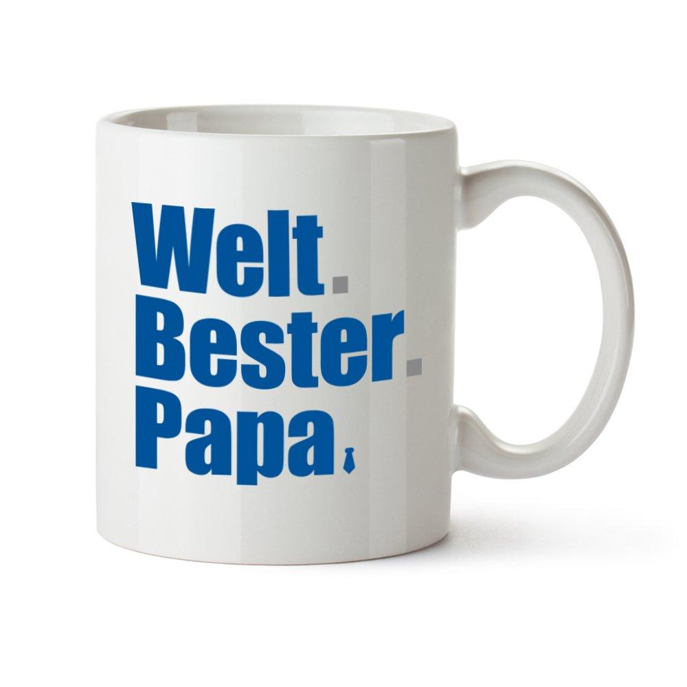 Tasse mit Aufdruck – Welt.Bester.Papa - Standard – Bedruckte ...