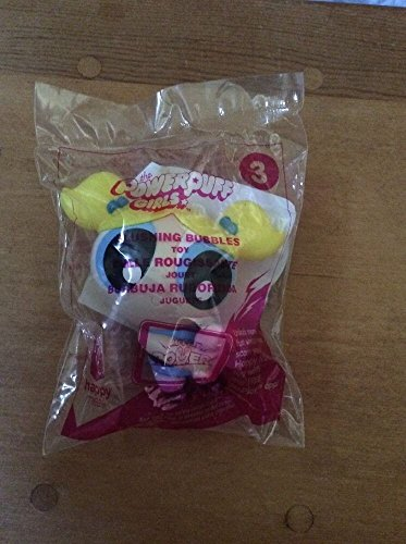 Powerpuff Girls 3 Blushing Bubbles McDonalds Meal Toy