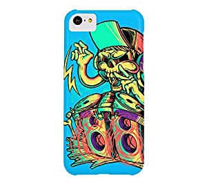 SKULL PARTY iPhone 5c Capri Barely There Phone Case - Design By Humans
