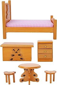 Maison de poupées miniatures = merveilleux fauteuil