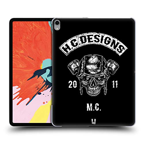 Head Case Designs Piston Head Hc Motor Rebels Hard Back Case Compatible for iPad Pro 12.9 (2018)