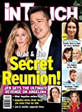 March 27, 2017 In Touch magazine Brad Pitt and Jennifer Aniston Secret Reunion! Casey Anthony Jennifer Garner Gwen Stefani Lisa Marie Presley