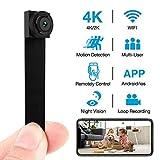 Hidden Camera 4K WiFi Wireless 2019 Newest DIY Mini Camera with 7 Level