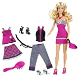 Barbie Fab Life Doll  and  Fashion – Pink Skirt  and  Accessories Doll, Baby & Kids Zone