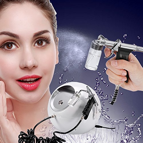 Oxygen Water Jet Skin Care Injection Spray Gun, Facial Moisturizing Cleaning Pores Clear Beauty Wrinkle Remove Sauna Spa Rejuvenation Machine