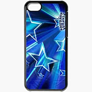 Personalized iPhone 5C Cell phone Case/Cover Skin 820 dallas cowboys Black