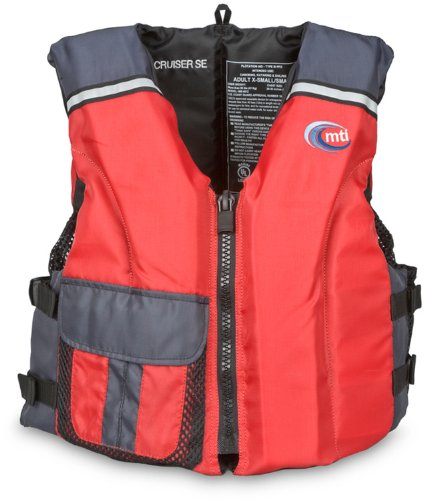 MTI Adventurewear Cruiser SE PFD Life Jacket (Red/Gray, X-Large/XX-Large) price