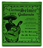 Cuerdas para Guitarron Selmer (Brass Yellow/Nylon Green)