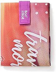 Roll'eat - Boc'n'Roll Square - Milieuvriendelijke en herbruikbare snackzak zonder BPA   Snackzak met eenvoudig verstelbare sluiting