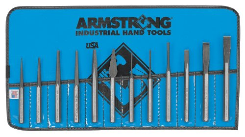 Armstrong 70-565 Punch and Chisel Set, 12-Piece