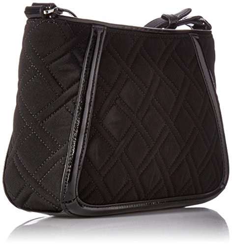 Classic Black Vera Womens Crossbody Trapeze Trimmed Bradley OSSnBx0