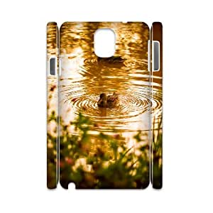 3D Pharrel Duck Samsung Galaxy Note 3 Case Ducks 6 Protector for Girls, Samsung Galaxy Note3 Case N9005, [White]
