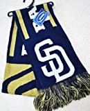 MLB San Diego Padres Knit MLB official Knit Stripe Jersey Scarf 2011 NEW