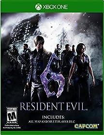 Amazon resident evil 6 xbox one capcom u s a inc video games resident evil 6 xbox one sciox Choice Image