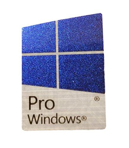 Microsoft Windows 10 Professional Pro Sticker Replacement Laptop/PC Color Changing Blue/Purple/Pink