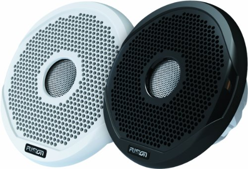Fusion Electronics MS-FR6021 Marine 2-Way Full Range Speakers, 200W,