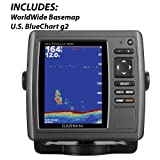 Garmin echoMAP and trade, 50s Chartplotter/Sounder Combo With TM Transducer W/ U.S. Bluechart G2 Charts