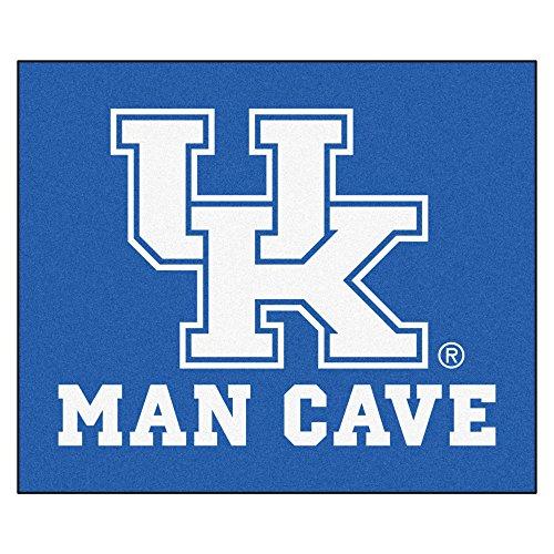 NCAA University of Kentucky Wildcats Man Cave Tailgater Rectangular Mat Area Rug