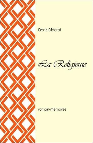 La Religieuse French Edition Denis Diderot 9781986626620