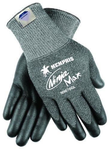 Mcr Safety Memphis Glove N9676GM Ninja Max Dyneema/Synthe...