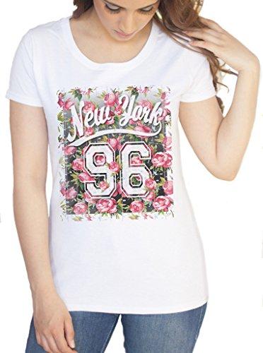 Irony Damen T-Shirt weiß weiß