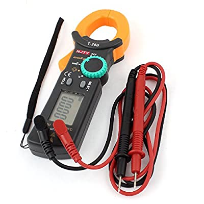 DMiotech DMiotech Digital Clamp Multimeter AC DC Voltmeter Ammeter Ohmmeter Voltage Current Ohm Resistance Capacitor Tester Multi Meter