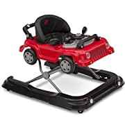 Jeep Classic Wrangler 3-in-1 Activity Walker, Red