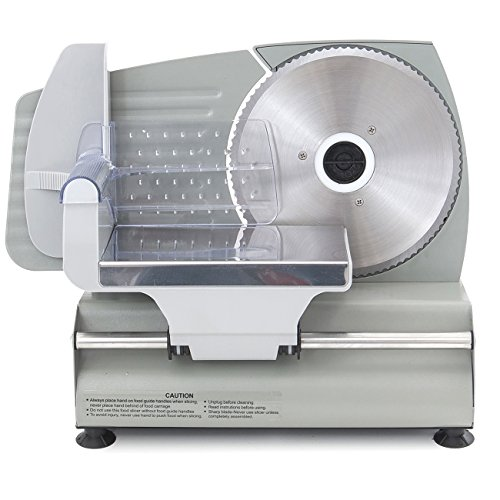 ARKSEN Electric Meat Slicer 7.5' Blade Home Deli Meat Food Slicer Premium Home Kitchen, 180 Watt