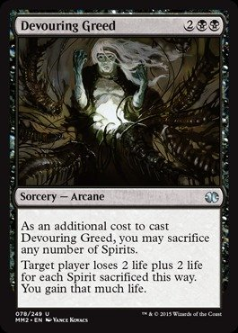 Magic: the Gathering - Devouring Greed (78/249) - Modern Masters 2015