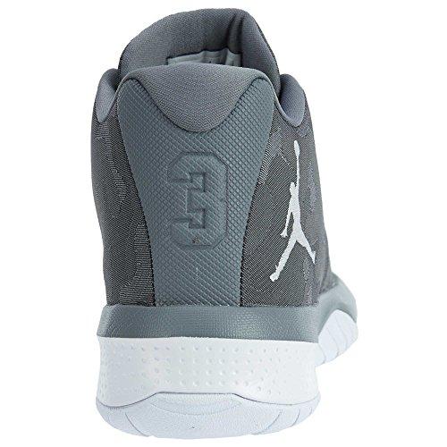 Jordan Nike Mens B. Volare Scarpa Da Basket Grigio Freddo / Bianco