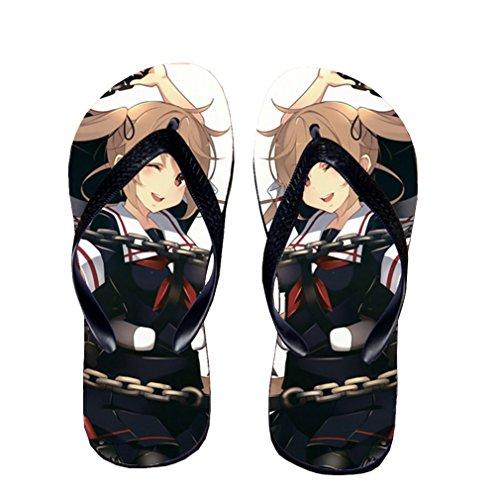 Bromeo Kantai Collection Anime Unisex Flip Flops Chanclas 559