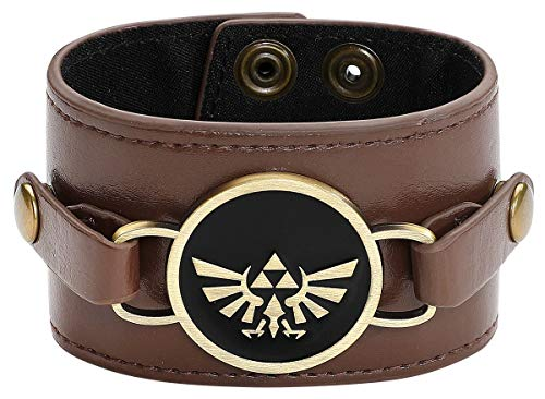 Difuzed The Legend of Zelda Wristband Double Sided Charm Bracciali from Difuzed