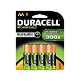 Duracell Rechargeable AA NiMH Image