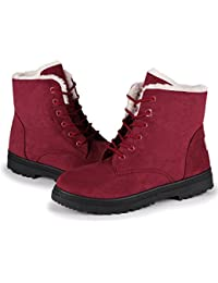 Amazon.com: Red - Snow Boots / Outdoor: Clothing, Shoes & Jewelry