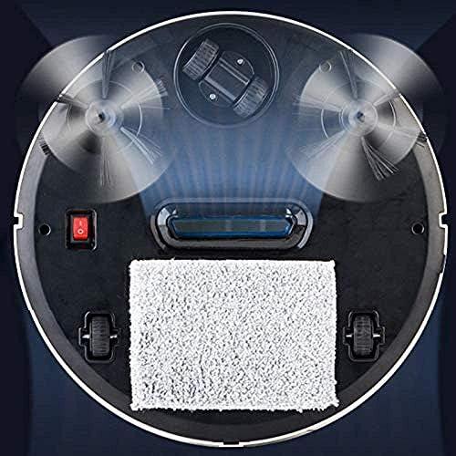Art Jian Balayeuse robotique Intelligente Automatique, 3 en 1 Robot de Balayage Automatique Intelligent aspirateur de poussière balayeuse de poussière aspirateur Intelligent
