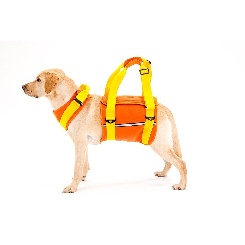 With(ウィズ) 歩行補助ハーネス LaLaWalk 大型犬用 ネオプレーンオレンジ Lサイズ B01BBCSA84  LL LL